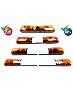 ECCO Britax Rotating Lightbar - A62 Series - 4 Modules - R65 - 12/24V