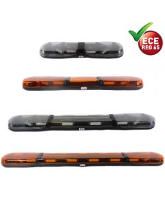 ECCO Britax LED Light Bar - A13 Series Amber / Clear Lens - R65 - 12/24V