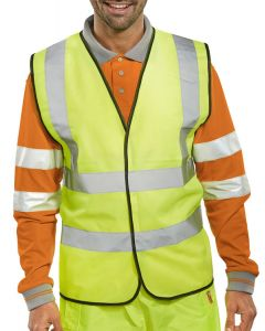Beeswift - Safety Hi Viz Vest / Jacket - Yellow