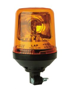 LAP - LAP270 Rotating Beacons - 5 Colours - DIN Mount - 12/24v