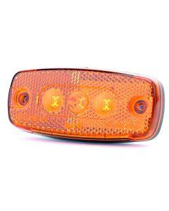 ECCO Britax L41.00.LDV LED Side Marker Lamp - Amber - 12/24v