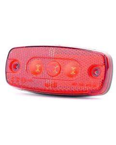 ECCO Britax L41.01.LDV LED Rear Marker Lamp - Red - 12/24v