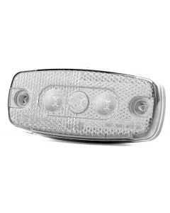 ECCO Britax L41.02.LDV LED Side Marker Lamp - White - 12/24v