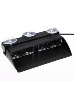 RVL - ENFORCER 16LED LED Dash Light - 12v - Amber, Red, Blue, White, Green, Split Colours - 200mm