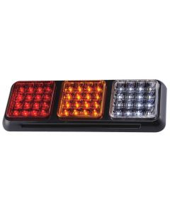 LAP - 26000RAC-BV Rear Function Combination Lamp - Stop, Tail, Indicator, Reverse - 12/24v
