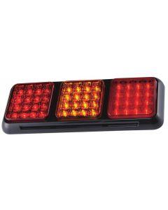LAP - 26000RAR-1BV Rear Function Combination Lamp - Stop, Tail, Indicator, Fog - 12/24v