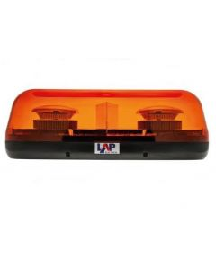 LAP - Compact LED Mini Lightbar - 1 Bolt - 12/24v - ECE R65 - 400mm