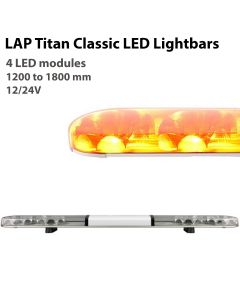 LAP Titan Classic LED Lightbar LB Series - 4 Modules - R65 - 12/24V
