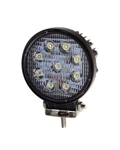 RVL - LED Work Lamp - 10-30v - 27w - 1400 Lumens - Round