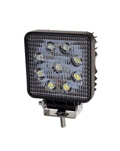 RVL - LED Work Lamp - 10-30v - 27w - 1400 Lumens - Square