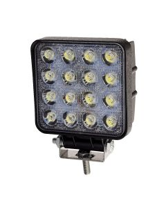 RVL - LED Work Lamp - 10-30v - 48w - 3000 Lumens - Square