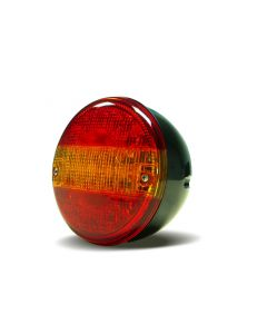 RVL - H01 Round LED Rear Function Lamp - Stop, Tail, Indicator - 12/24v