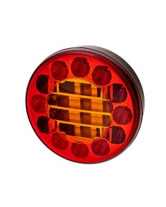 RVL - H02 Round LED Rear Function Lamp - Stop, Tail, Indicator - 12/24v