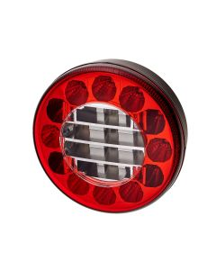 RVL - H02 Round LED Rear Function Lamp - Reverse, Fog - 12/24v