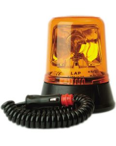 LAP - LAP260 Rotating Beacons - 5 Colours - Magnetic (70mph) - 12/24v