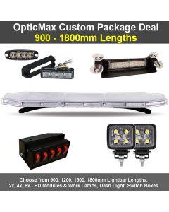 Opticmax Led Lightbars - Response Vehicle Lighting Ltd on