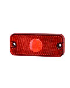 RVL - LED Marker Lamp - M01.DV.ST.R - 12/24v - Red