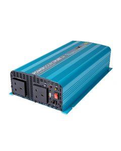 Ring - RINVP1024 - Pure Sine Wave Inverter - 2 Sockets - 1000w - 24v
