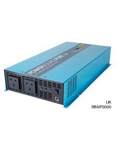 Ring - RINVP3000 - Pure Sine Wave Inverter - 2 Sockets - 3000w - 12v