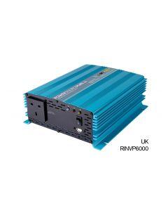 Ring - RINVP600 - Pure Sine Wave Inverter - 1 Sockets - 600w - 12v