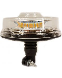 RVL - 0148 Low Profile LED Beacon - Flexi Din / Pole Mount - 12/24v - ECE R65