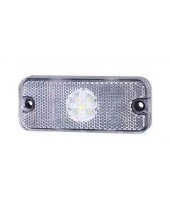 RVL - LED Marker Lamp - M01.DV.ST.W - 12/24v - White