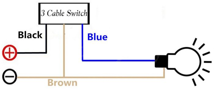 12V Light Switch Wiring Diagram from responsevehiclelighting.co.uk